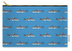 Sharks Pattern - Carry-All Pouch