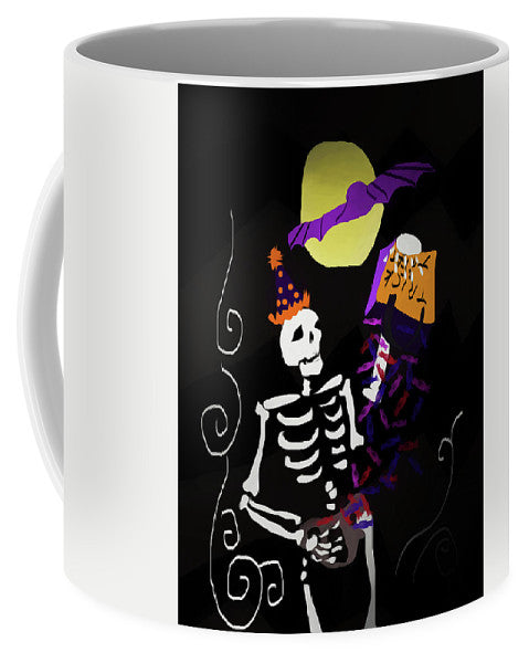Skeleton Candy - Mug - expressive-flower-art-goods.myshopify.com