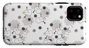 Snowman Pattern - Phone Case