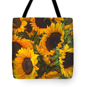 Sunflowers - Tote Bag
