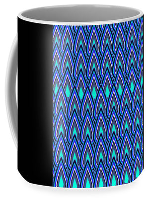 Teardrops In Blue - Mug