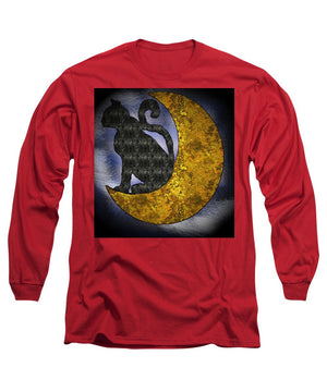 The Cat And The Moon - Long Sleeve T-Shirt