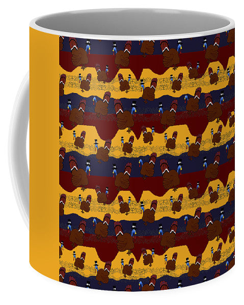 Turkey Pattern - Mug