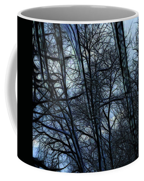 Twilight Icicles Snowscape - Mug