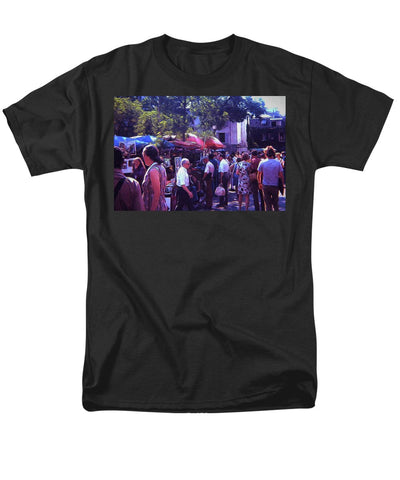 Vintage Travel Art Park Gathering - Men's T-Shirt  (Regular Fit)