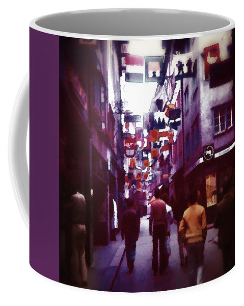 Vintage Travel City Market - Mug