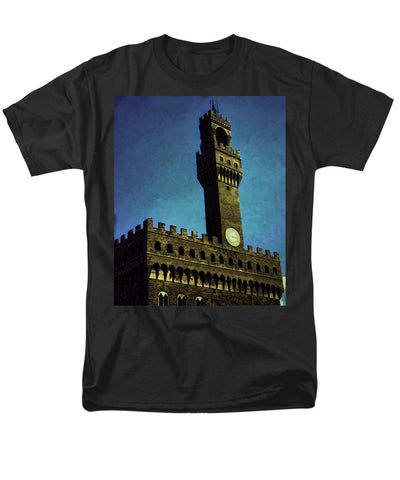 Vintage Travel Florence City Hall - Men's T-Shirt  (Regular Fit)