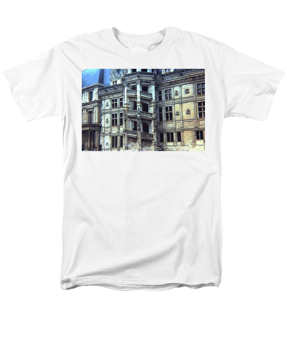 Vintage Travel Staircase Architecture - Men's T-Shirt  (Regular Fit)