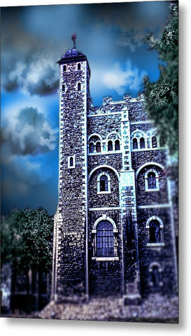 Vintage Travel Tower Of London - Metal Print