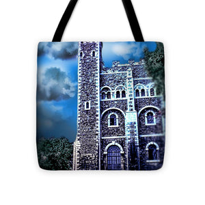 Vintage Travel Tower Of London - Tote Bag