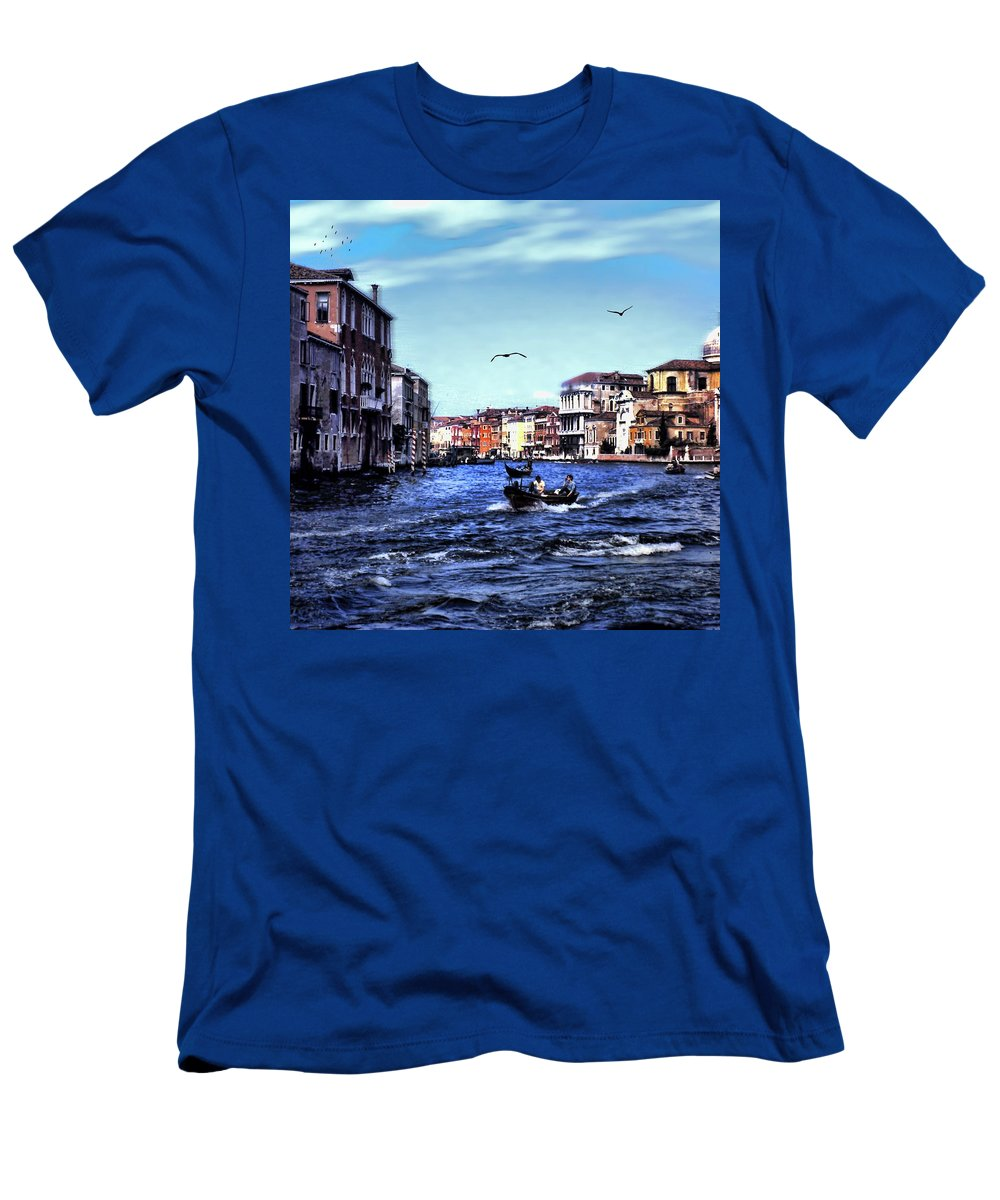 Vintage Travel Venice Canal - Men's T-Shirt (Athletic Fit)