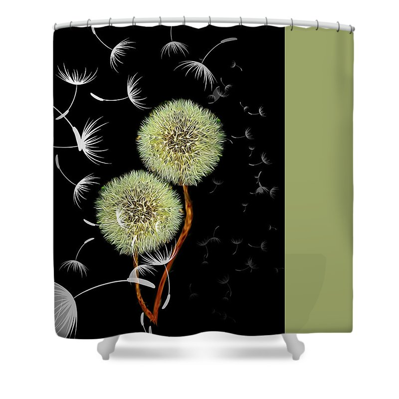 What Do You Wish For - Shower Curtain