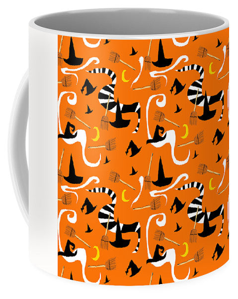 Witches Hats And Brooms - Mug