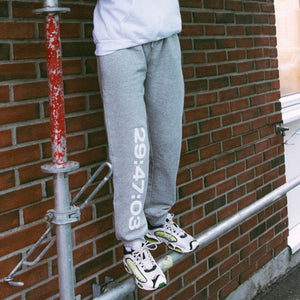 NUMBER PANTS | HEATHER GREY