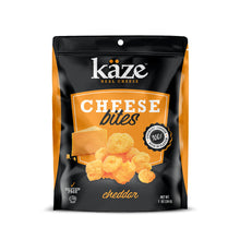 Load image into Gallery viewer, Cheddar Cheese Bites - 1oz 6 pack