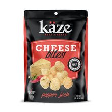 Load image into Gallery viewer, Pepperjack Cheese Bites (1.5oz Bag)