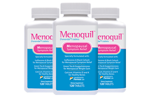 Three Bottles of Menoquil