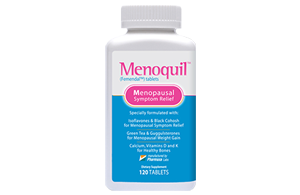 One Menoquil Bottle