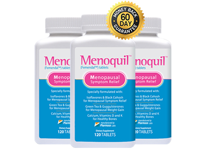 Three Bottles of Menoquil Plus