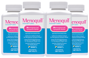four Bottles of Menoquil
