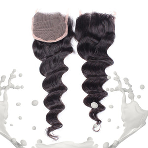 Milk Exotic Wavy Closure