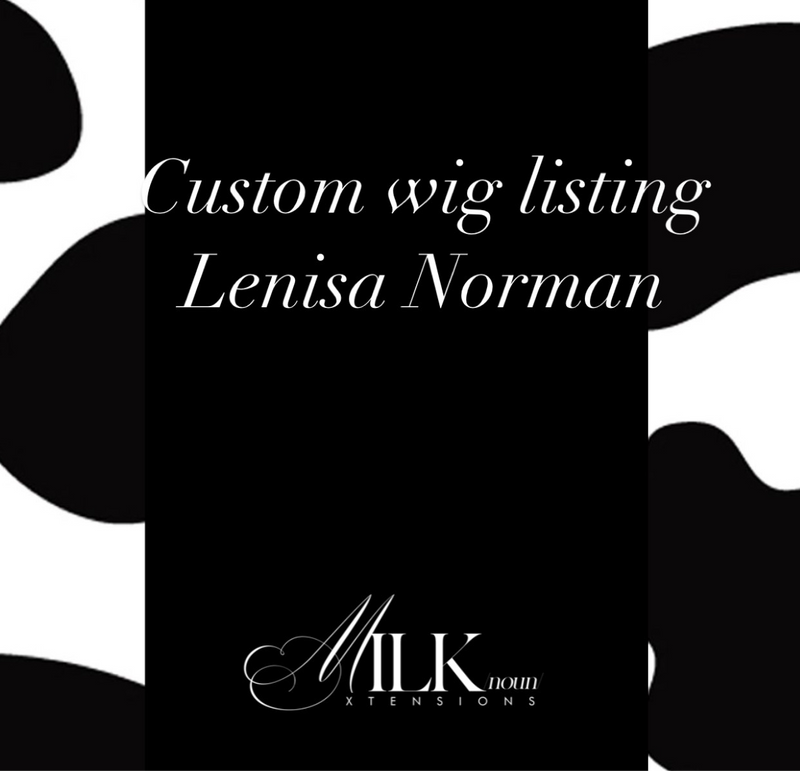 Luxury Custom wig