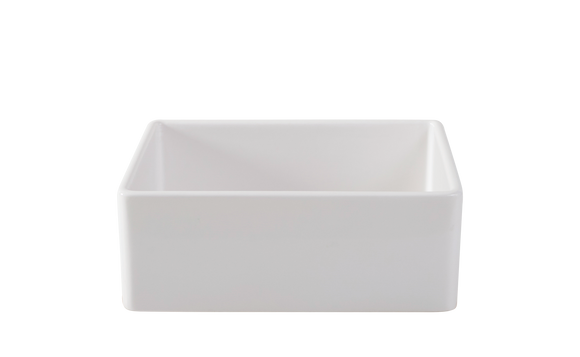 Fireclay Farmhouse Sink 23.5 inch