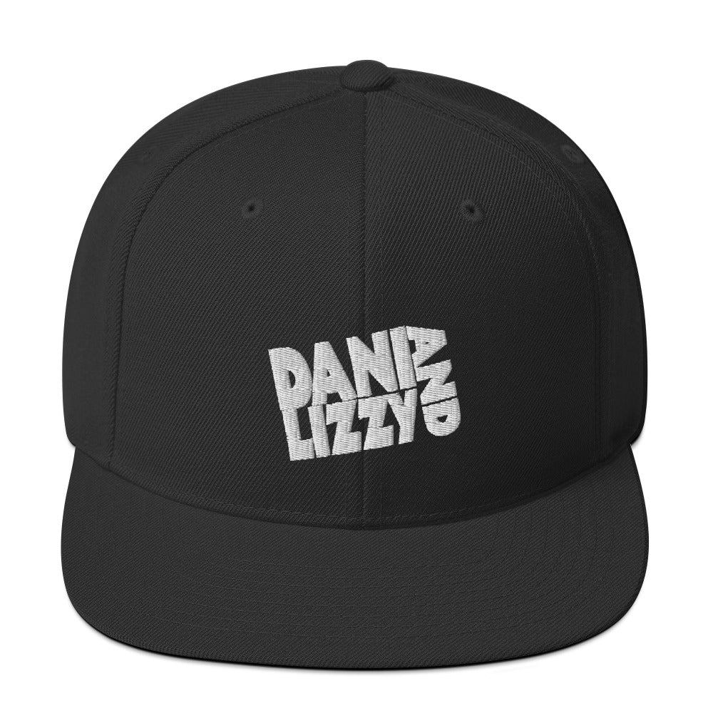 Black Snapback Hat (Dani and Lizzy Classic)