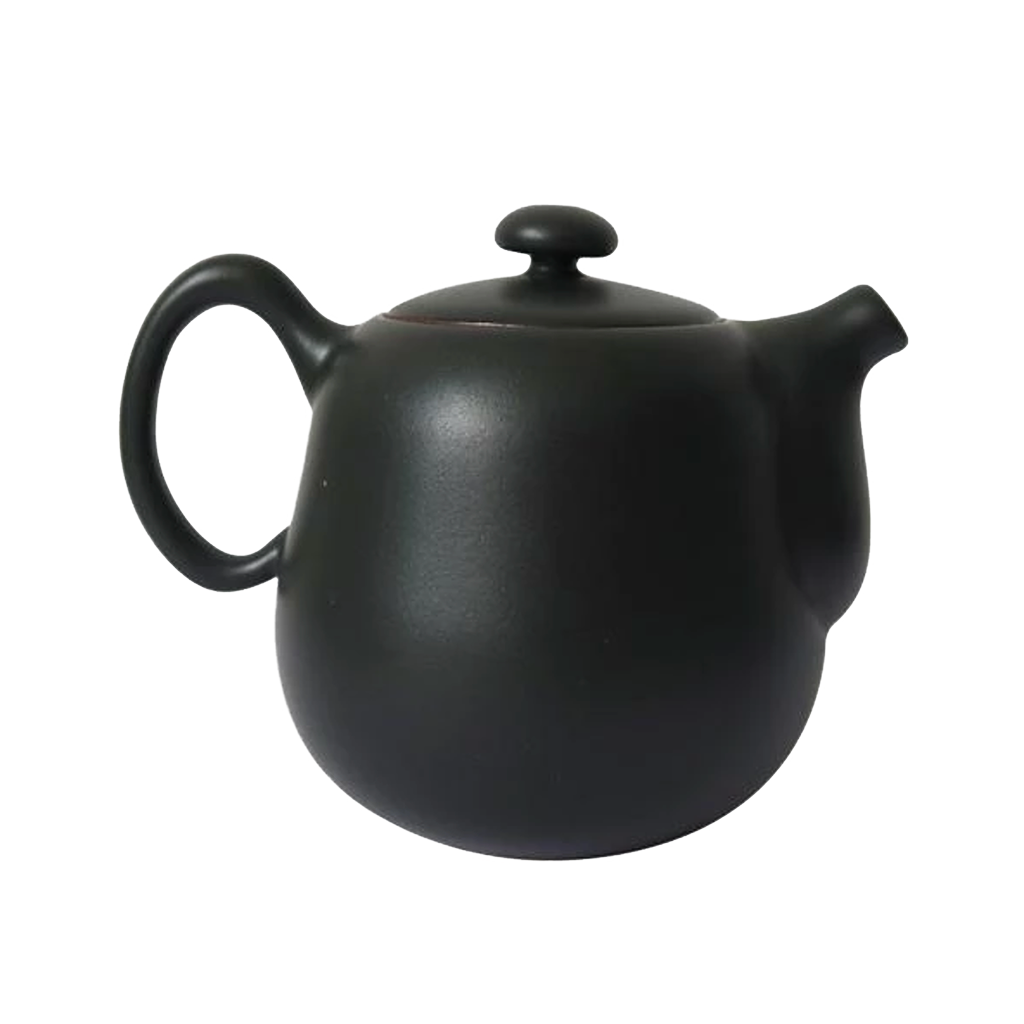 Lin's Family Pottery Contentment Pot - Black