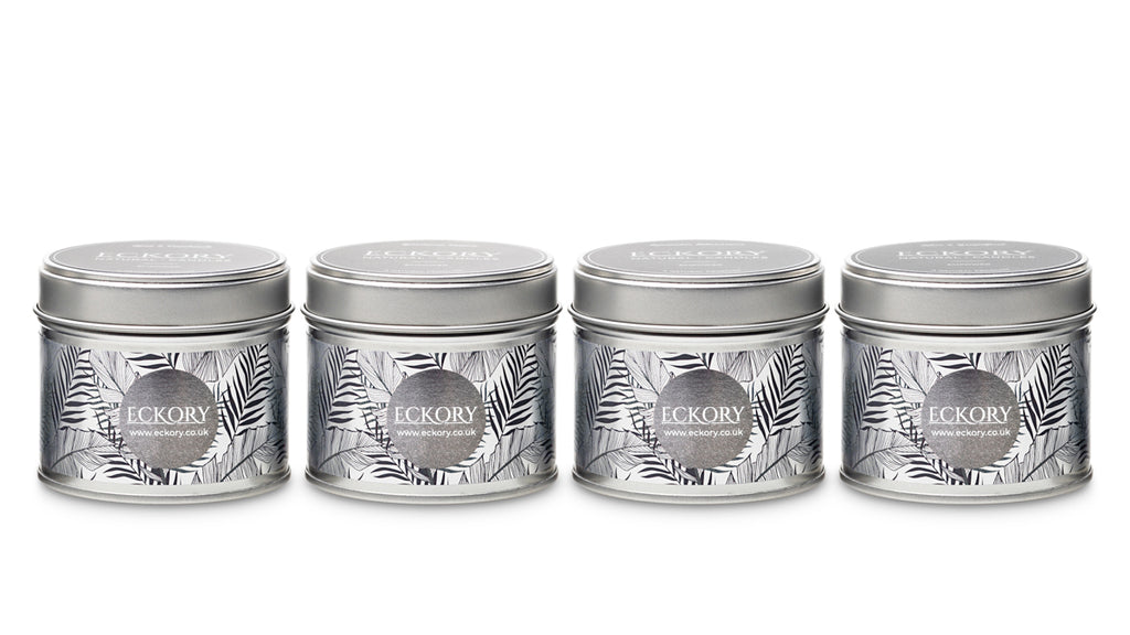 Eckory , Empower luxury scented natural wax tin candles scented luxury gift