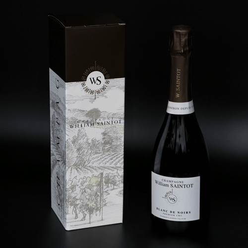 Champagne William Saintot Geschenkdoos Blanc de Noirs