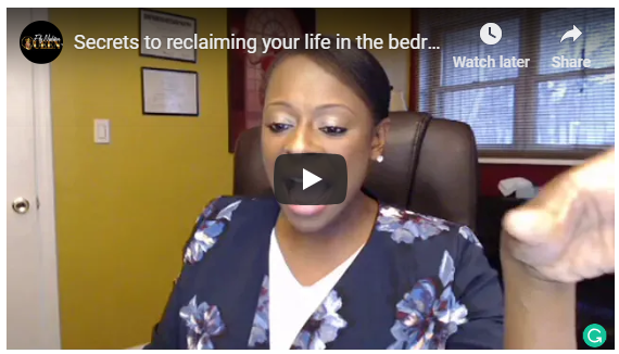 Secrets to reclaiming your life in the bedroom - Dr Shonna