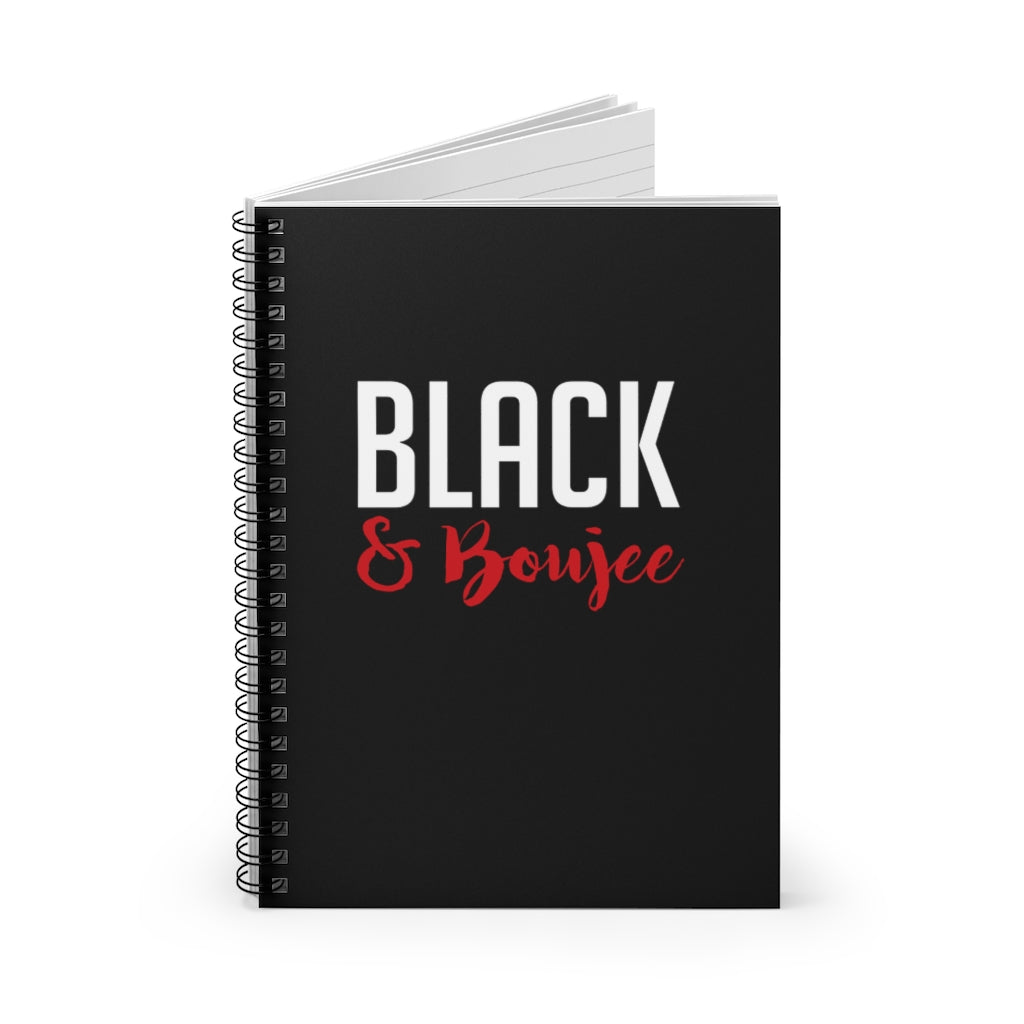 Black and Boujee Notebook