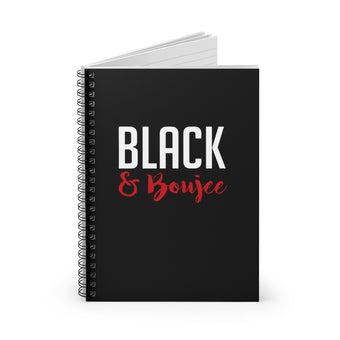 Black and Boujee New Notebook