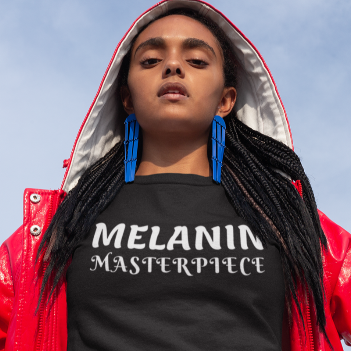 """Melanin Masterpiece"" Short Sleeve"