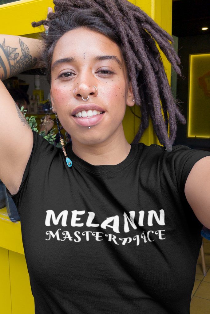 "Short Sleeve T-Shirt | ""Melanin Masterpiece"" 