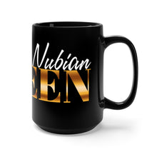 Fly Nubian Queen Black Mug 15oz