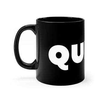 Queen All Black  11oz mug