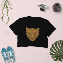 Pride Geometric Lioness Women's Crop Top