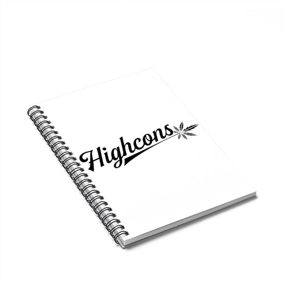 Highcons Apparel Spiral Notebook - Ruled Line - Highcons Aparrel