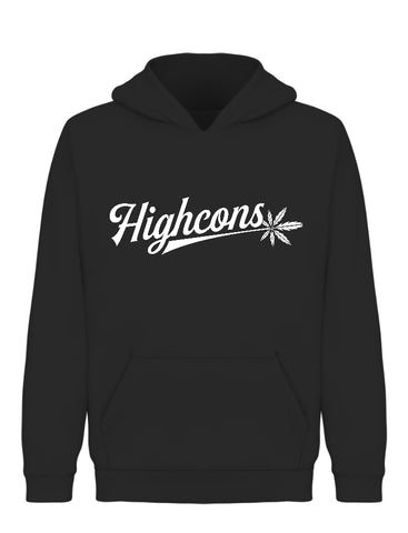 Icon Hoodie Black - Highcons Aparrel