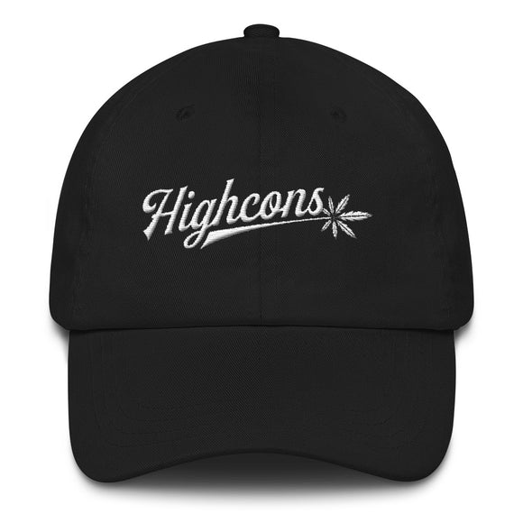 Highcons Apparel - Dad hat - Black - Highcons Aparrel