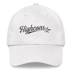 Highcons Apparel - Dad hat - White - Highcons Aparrel