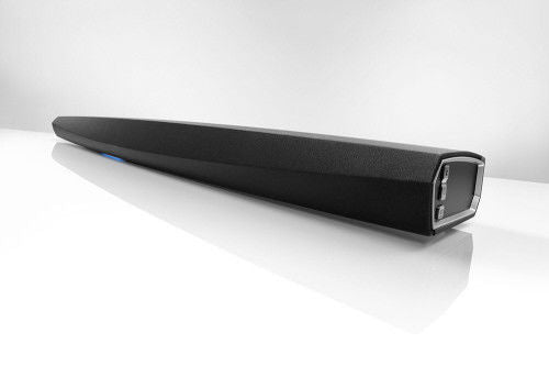 Denon Surround Sound Bar Home Speaker Set of 1 Black (HEOSBAR), Works with Alexa
