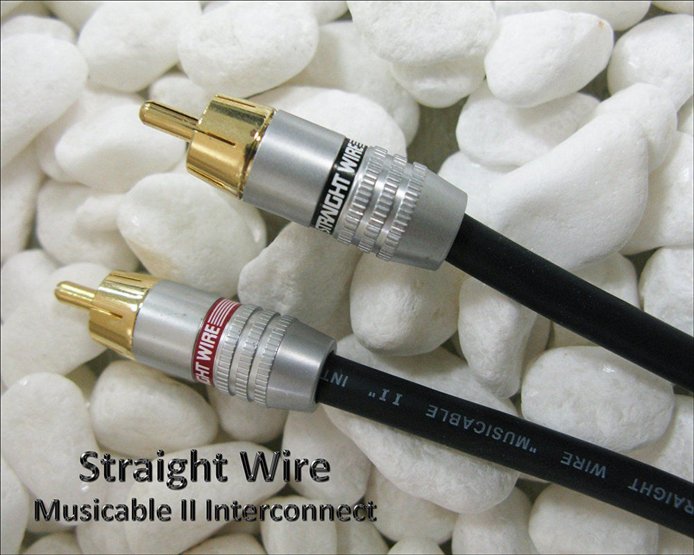 Straight Wire Musicable II RCA 2.0 Meter Pair Interconnect