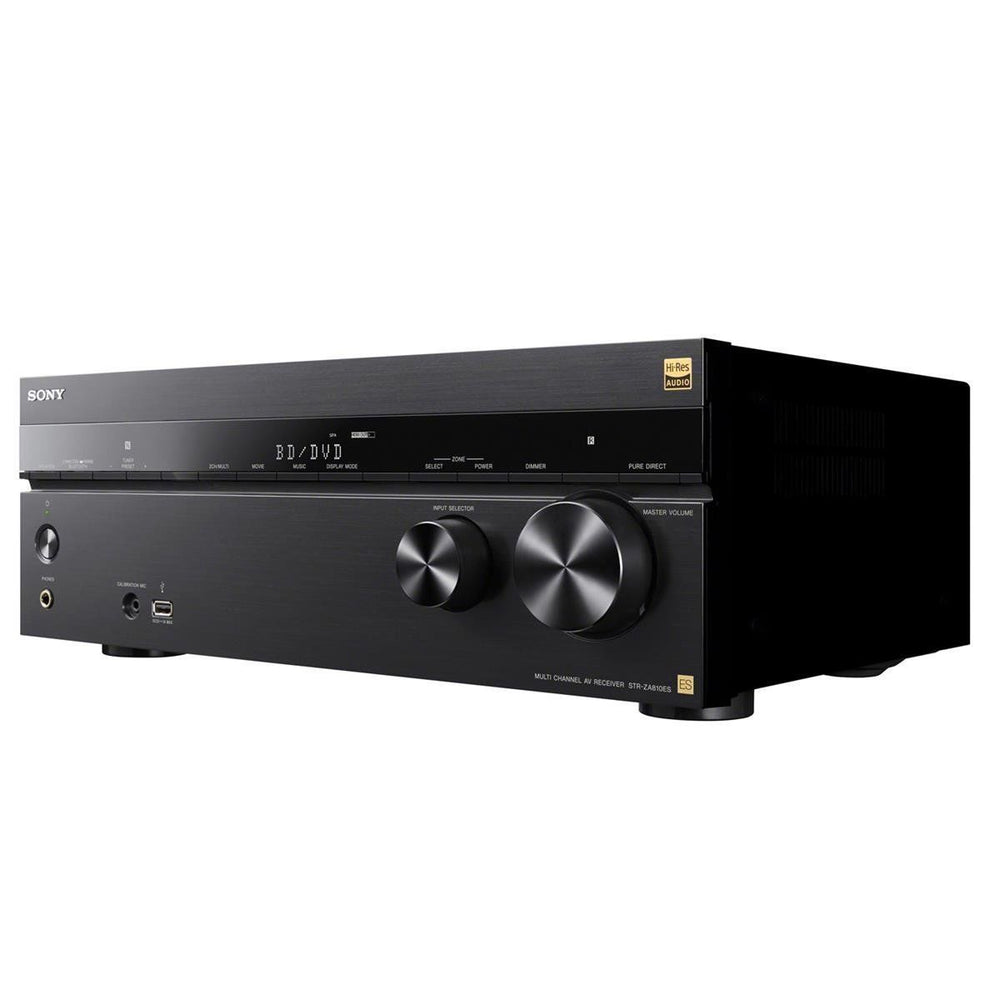 Sony STR-ZA810ES 7.2 Channel Hi-Res Wi-Fi Network AV Receiver (Black)