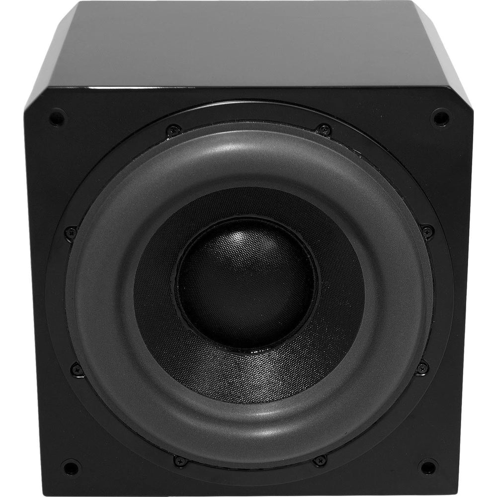 "Sunfire HRS12  Single 12"" 1000w Powered Subwoofer - Black Lacquer"