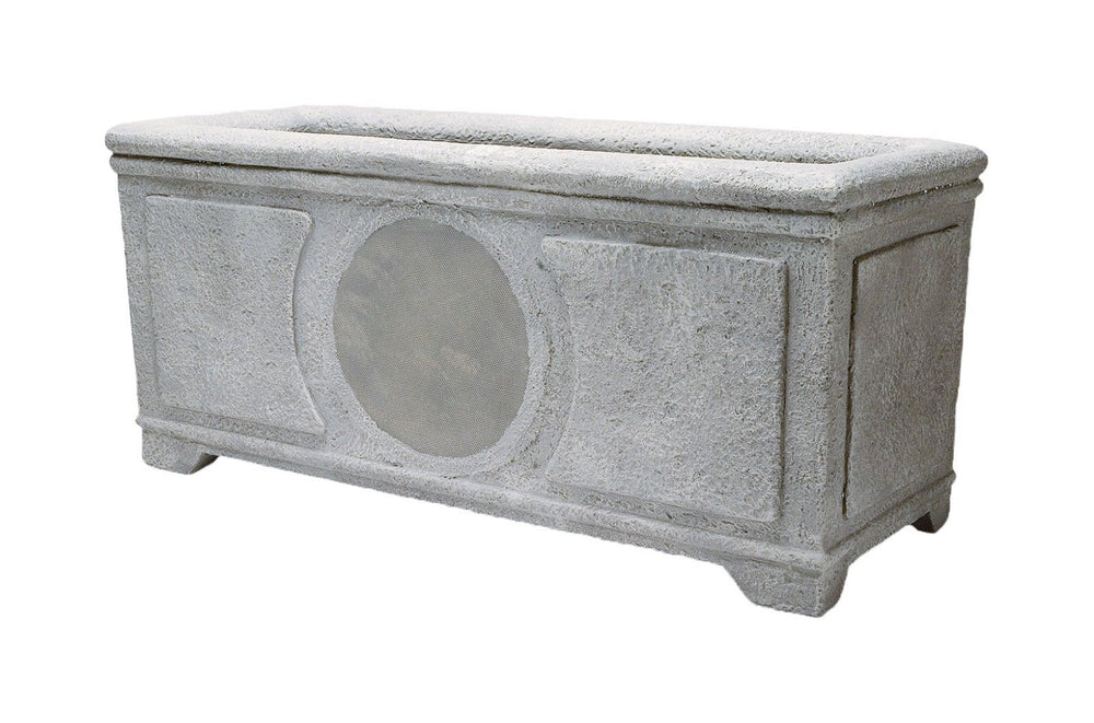 Niles PB6SI PRO Weathered Concrete 6-inch 2-way High Performance Planter Box Loudspeaker