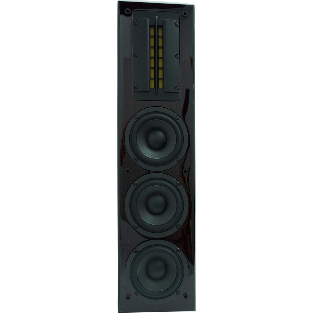 Sunfire CRS3  Cinema Ribbon Trio On-Wall Loudspeaker - Lacquered Rosewood