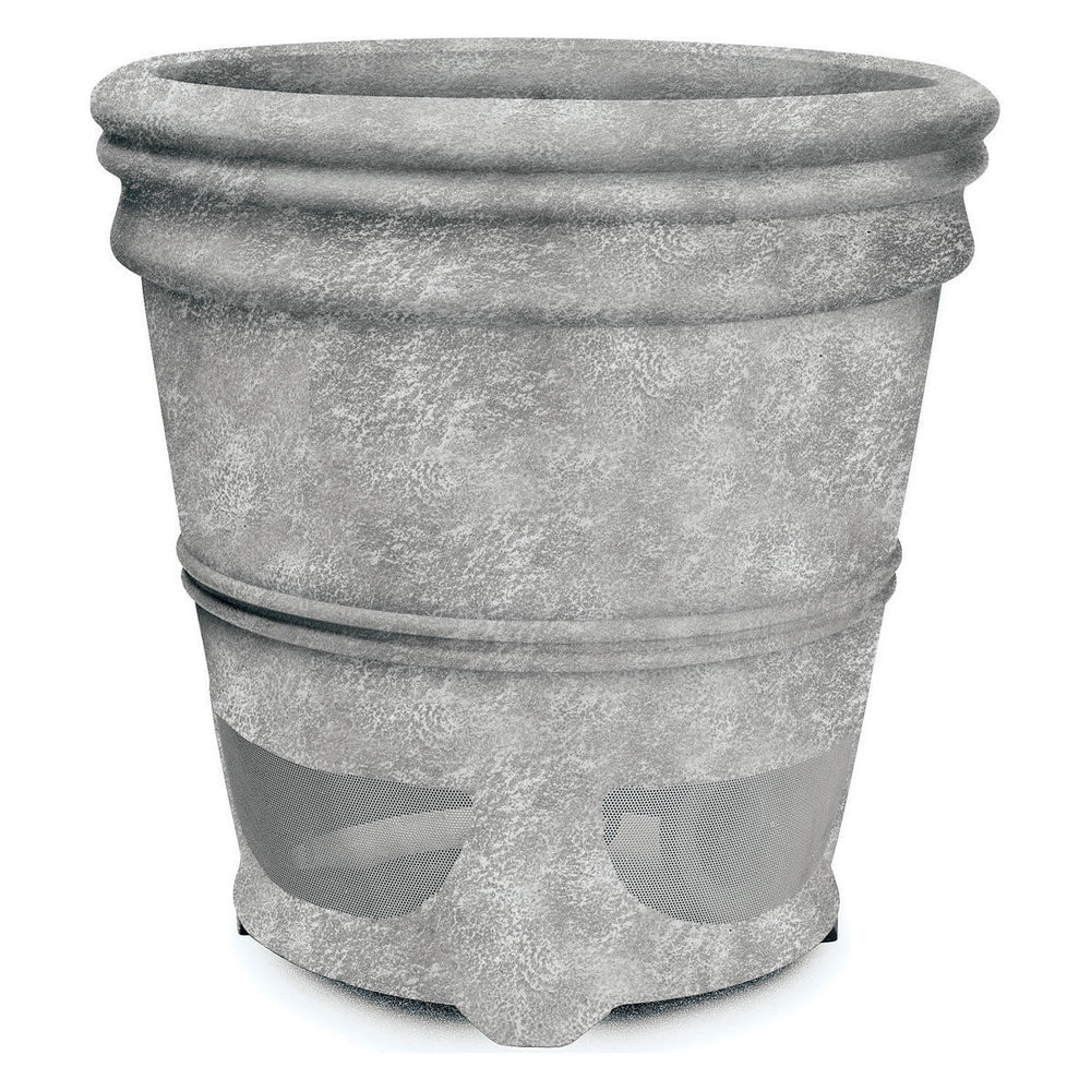 Niles PS6SI PRO Weathered Concrete 6-inch 2 way High Performance Planter Loudspeaker (FG01680)